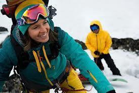 paleo athlete snowboarding