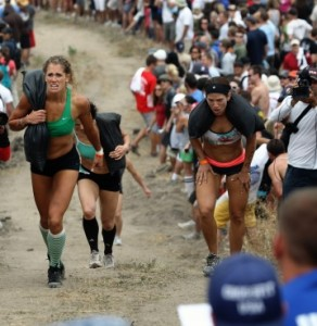 woman hill sprints