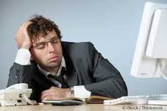 Man Midday Fatigue