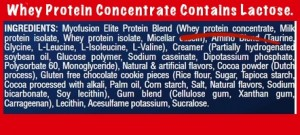Whey Concentrate Has Lactose