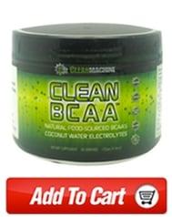 Clean BCAA intense workout