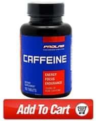 Intense workout caffeine supplement