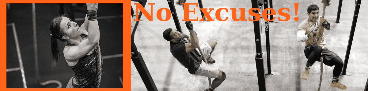 Make No Workout Excuses!